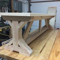 TRESTLE BENCH BUILD